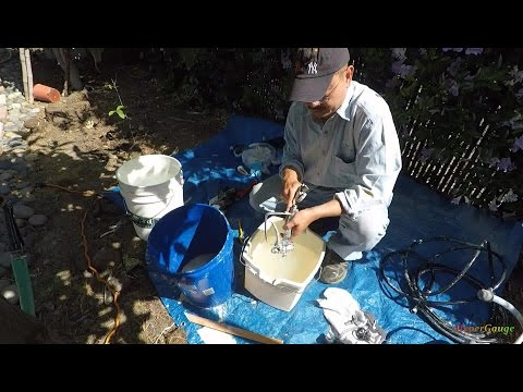 2/3: Cleaning the Harbor Freight paint sprayer system - Disassemble and cleaning the Spray Gun