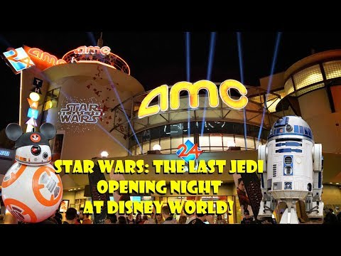 Star Wars: The Last Jedi Red Carpet Opening Night At Disney World Characters, Interviews, & More!