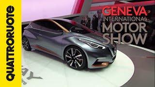 Nissan Sway: ecco la Micra del futuro | Salone di Ginevra 2015