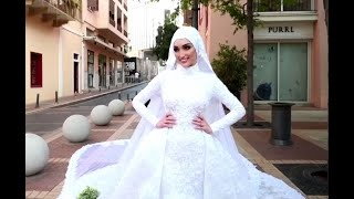 لقطات توثق تحول زفاف لبناني الى كارثة خلال انفجار مرفأ بيروت
