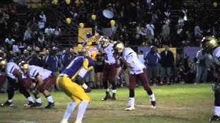 Dallas Lopez - 2010 Football Highlights - Downey Vikings