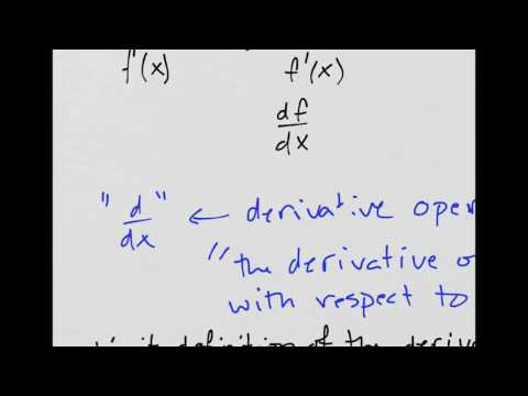 Derivatives!