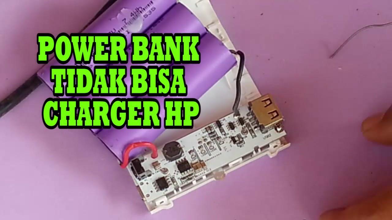 Penyebab Powerbank Tidak Bisa Charge Hp Youtube