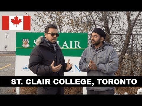 Meeting Punjabi Student Of St Clair College