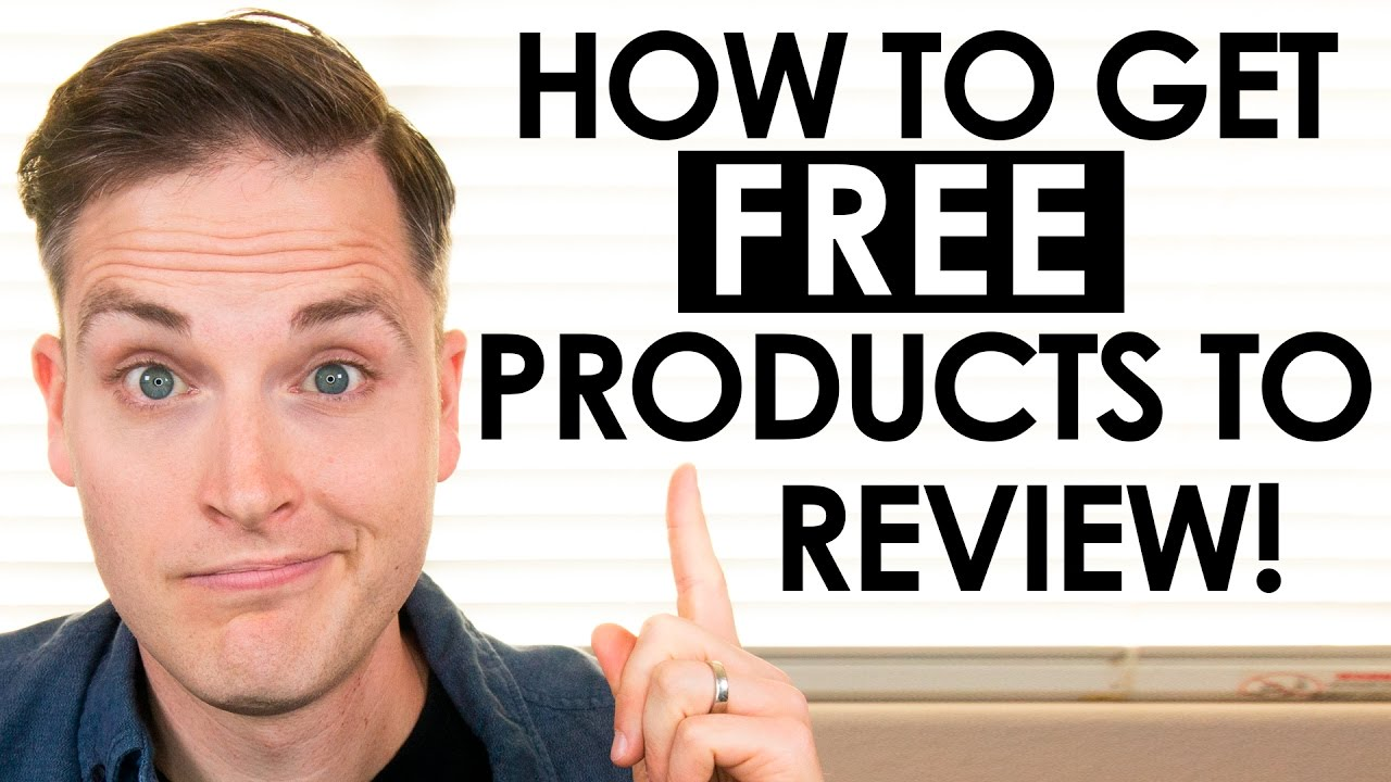 How to Get FREE Stuff to Review on YouTube
