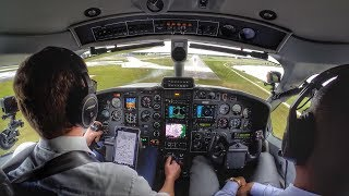 landing an airplane