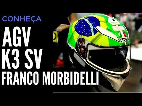hqdefault - Vídeo: Capacete AGV K3 SV Franco Morbidelli