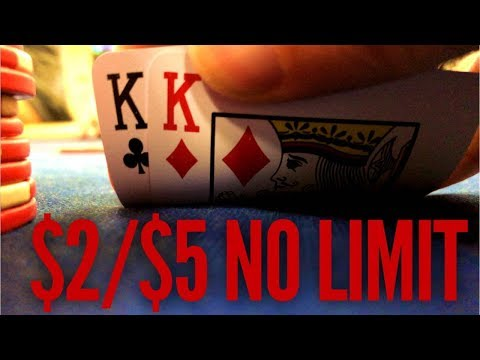 $2/$5 No Limit Texas Hold'em Poker At Oceans 11 Casino