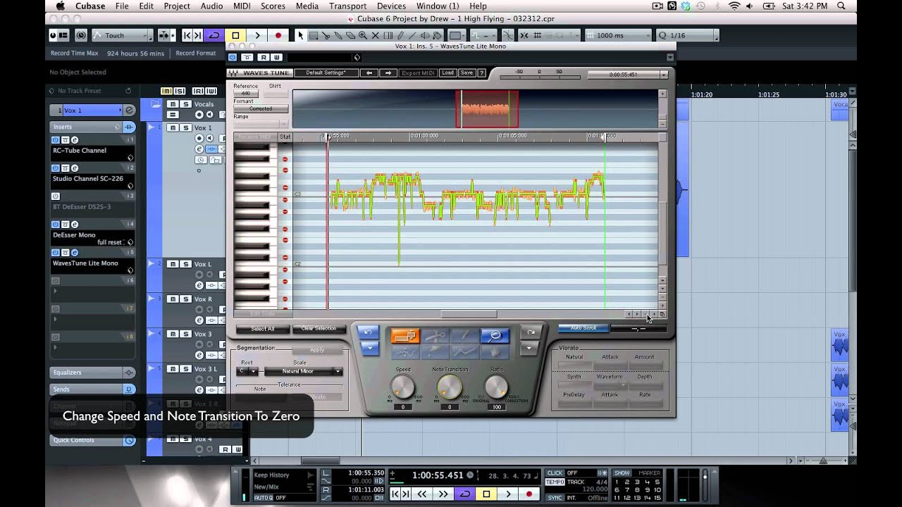 the effects of auto tune in the Killer autotune and melodyne effects  auto tune needs to be correcting the pitch to get good effect right so here is a cool trick i have found that works.