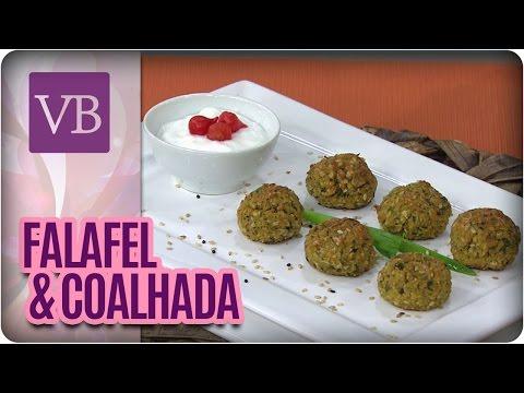 Receita Saudável: Falafel e Coalhada - Você Bonita (18/07/16)