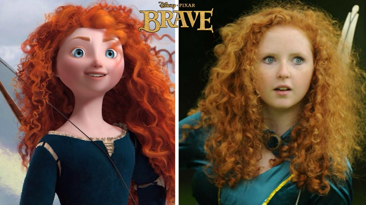 Download Disney Brave Characters In Real Life   Must Watch  