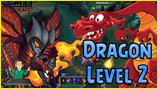 DRAGON LEVEL 2 AATROX tutorial 5.17  - League of Legends by Chubacan