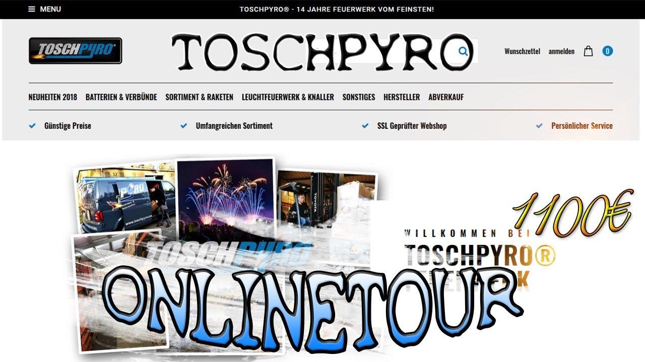 toschpyro online bestellung 2018 feuerwerk online bestellen firework discovery youtube. Black Bedroom Furniture Sets. Home Design Ideas