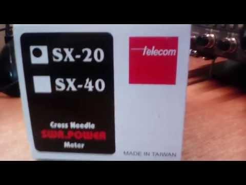 Reflektometr krzyżowy 1.8 - 200 MHz Telecom SX-20 HAMRADIOSHOP.PL