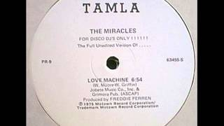 Cover images The Miracles - Love Machine