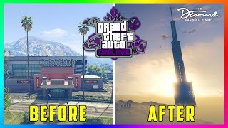 GTA 5 Online Casino DLC Update - FINAL CHANGES! The Diamond Casino & Resort Is Almost Ready! (GTA 5)