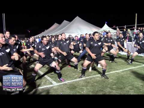 All Blacks Haka At World Rugby Classic, November 15 2014
