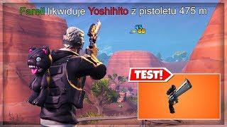 MAKSYMALNY FRAG Z REWOLWERU Z LUNETĄ! WIELKI TEST! Fortnite Battle Royale