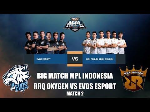 EPIC COMEBACK!!! RRQ OXYGEN VS EVOS ESPORT - MPL INDONESIA Match 2