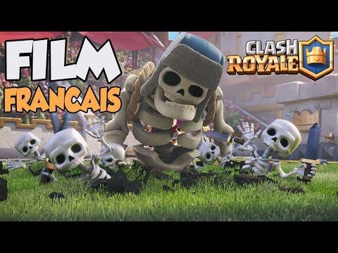 FILM CLASH ROYALE EN FRANÇAIS COMPLET !!!