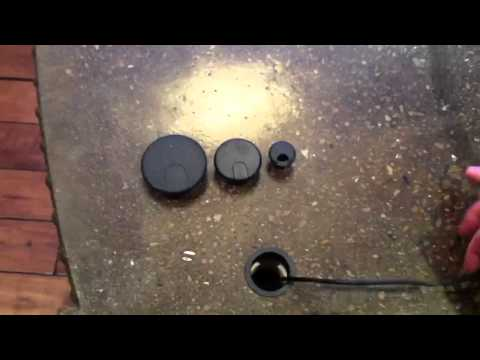 Countertop Desk Hole Cap Grommet for Cable Wires