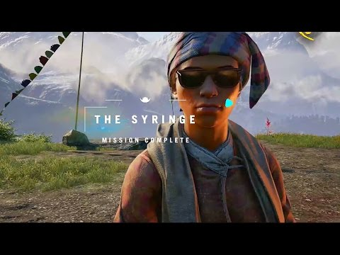 FC4 The Syringe mission Far Cry 4 gameplay the Himalayas Pralaya Giri