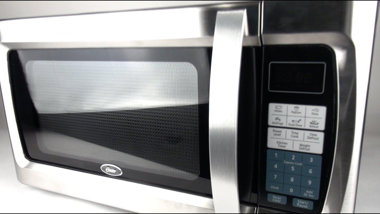 oster 1 3 cu ft 1100 watt microwave oven