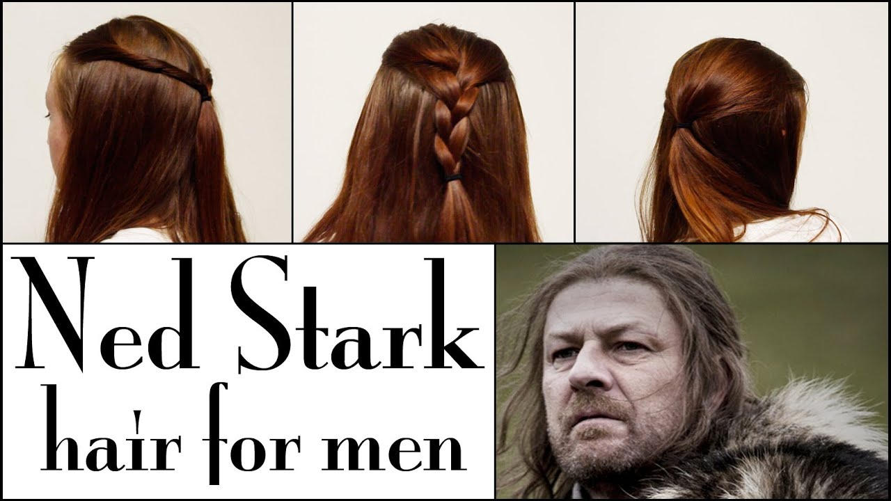 Game Of Thrones Hair Tutorial For Men Ned Stark Youtube