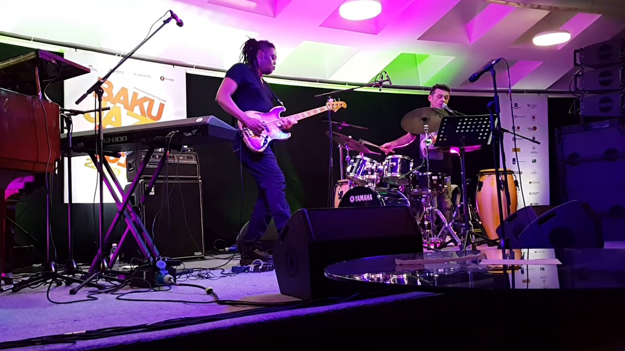Linley Marthe | Baku Jazz Festival 2016 | Blue Mauritius