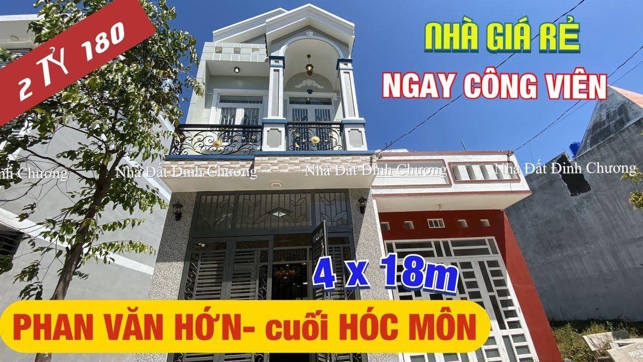 [Bán lỗ!] Bán nhà cuối Phan Văn Hớn ✅ Hóc Môn 4x18m giá 2 tỷ 180tr