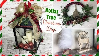 DOLLAR TREE DIY CHRISTMAS DECOR | Easy Holiday Diys | Momma from scratch