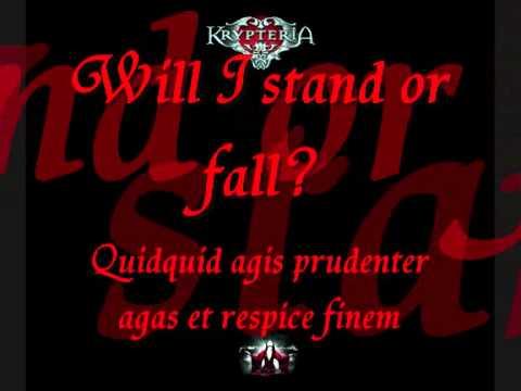 Krypteria - The Promise with lyrics