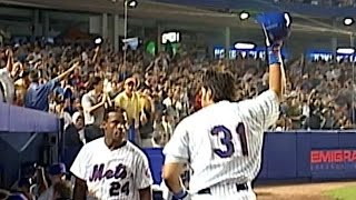 NYY@NYM: Piazza homers off Clemens, Mets take lead