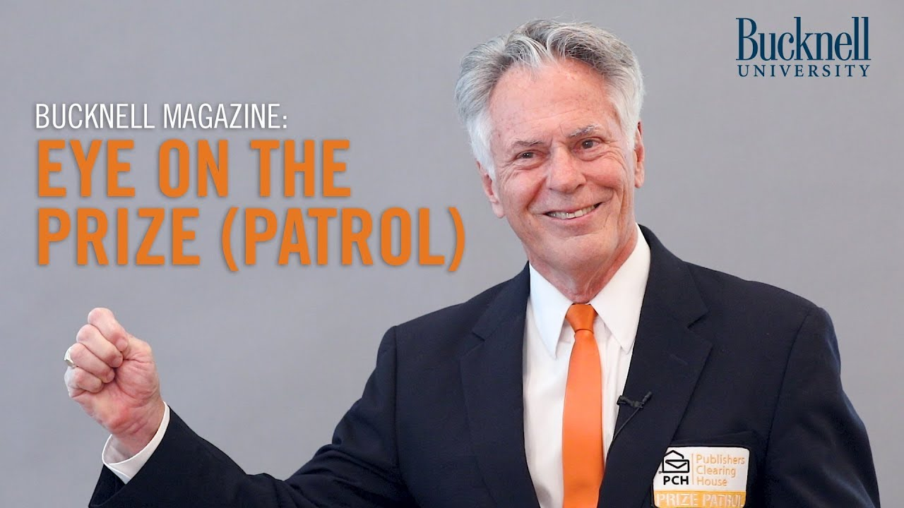 Bucknell Magazine: Eye on the Prize (Patrol)