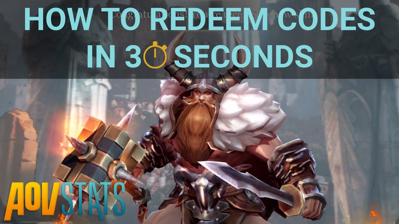 How to redeem codes in Arena of Valor