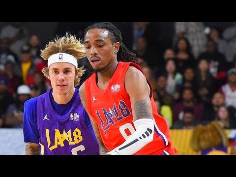 NBA All-Star Celebrity Game 2018! Quavo vs Justin Bieber! Quavo Wins MVP!