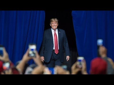 Trump hosts 'Make America Great Again' rally in Kansas