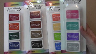 Mini Archival Ink Kits for sale!! And a few new stamps.