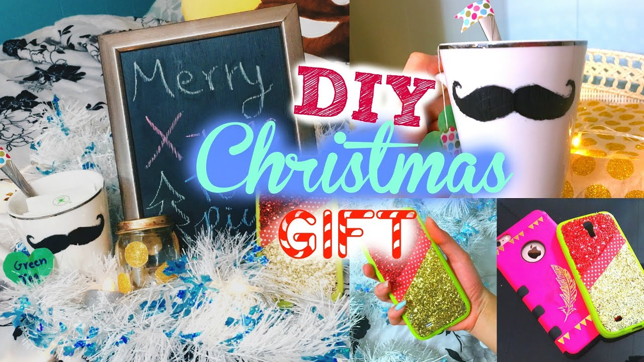 Diy Christmas Gifts Last Minute Presents For Friends Boyfriends Mom Dad Girl Youtube