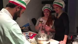 КУЛИНАРНЫЙ МАСТЕР КЛАСС | итальянская кухня| девичник в Риме |