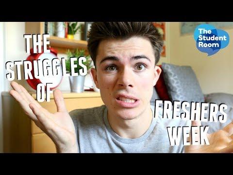 The Struggles of Freshers' Week | Jack Edwards