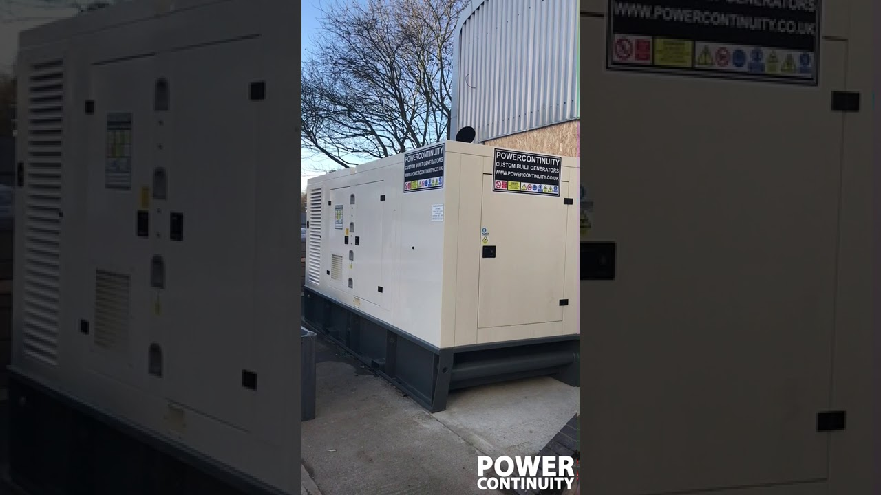 Generator Smoking - Diesel Rotary UPS Systems and Emergency