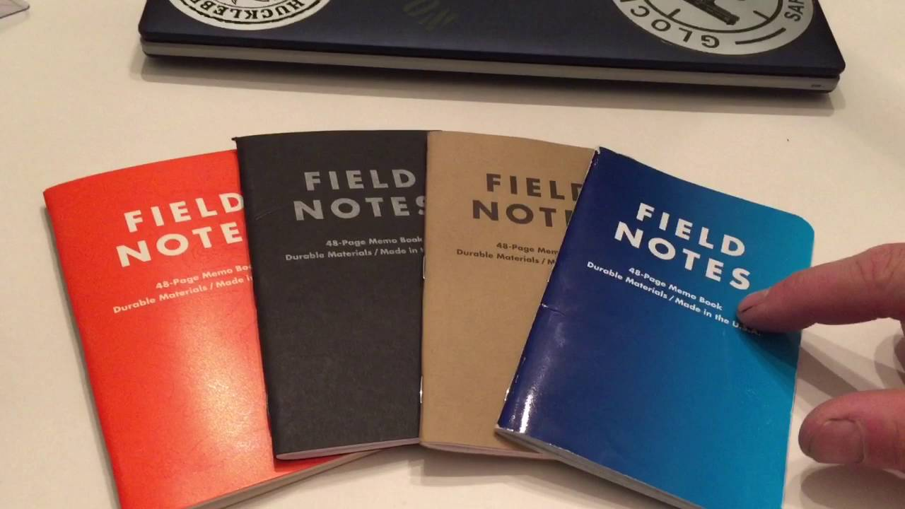 Field Notes Review These Are Amazing Notebooks YouTube – Field Note