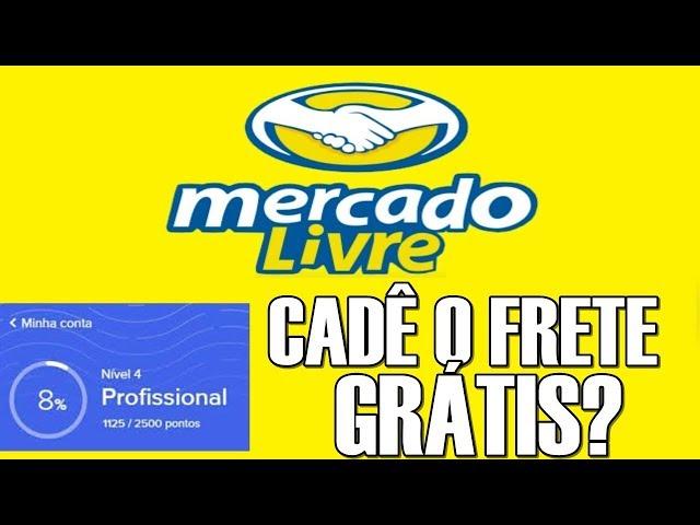 Mercado Livre Cadê o Frete Grátis por Beneficio do Mercado pontos?