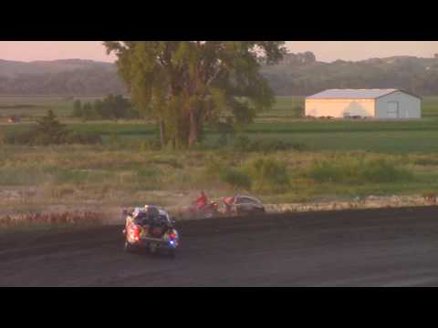 Nicholas Peters up and over -- 7/8/17 -- Park Jefferson Speedway