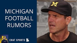 Michigan Football Rumors: Runyan to LT? Harbaugh OC? Grant Perry 'Best' WR? Jordan Shoe Scandal News
