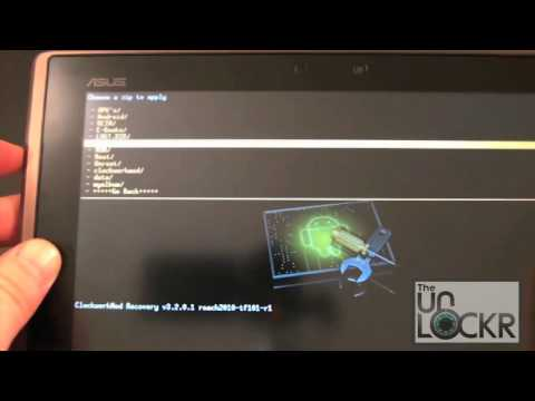 How To Install A Custom ROM On The Asus Eee Pad Transformer