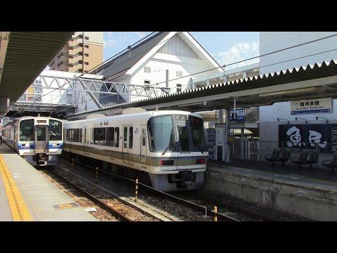 JR西日本 赤穂線 姫路~播州赤穂 前面展望 JR West Akō Line Himeji~Banshū Akō Führerstandsmitfahrt