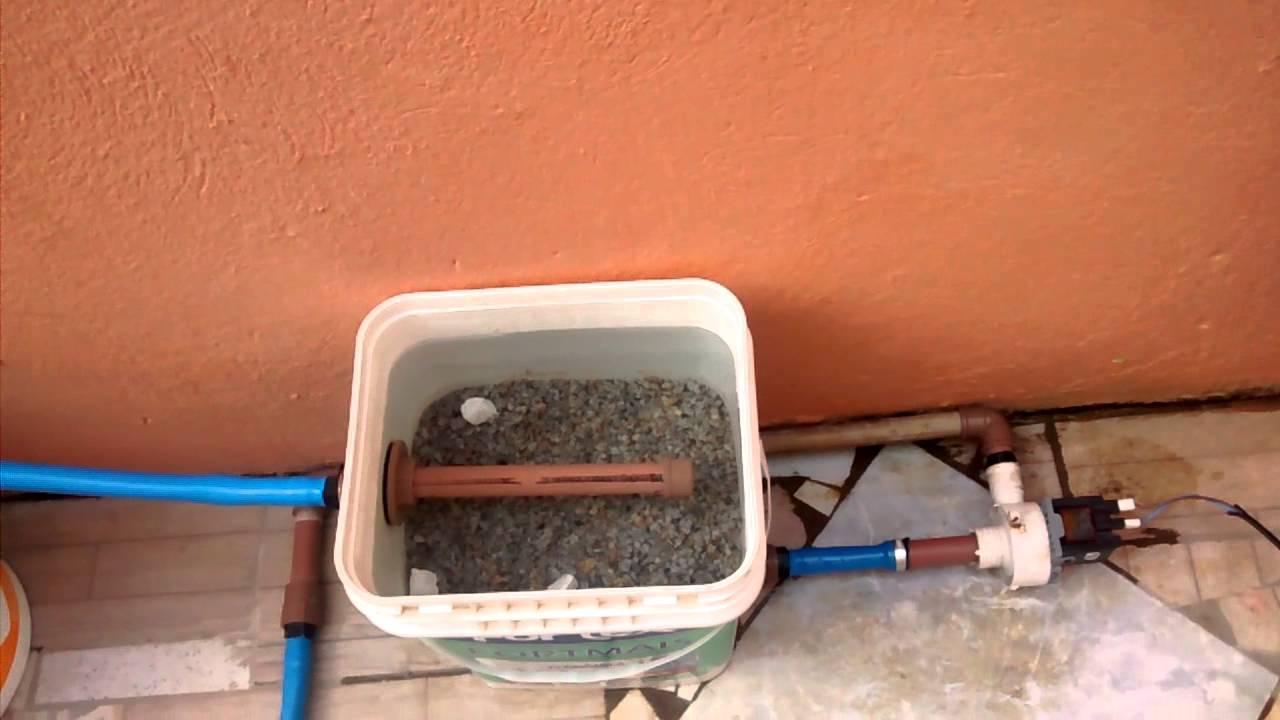 Filtro caseiro para piscina infl vel de 3000 litro youtube for Filtros de agua para piscinas