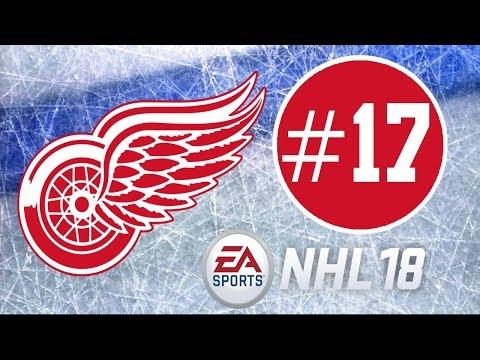 NHL 18 ~ Detroit Red Wings Franchise Mode Commentary ~ #17 (Hot Start)